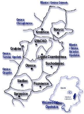 gmina - mapka